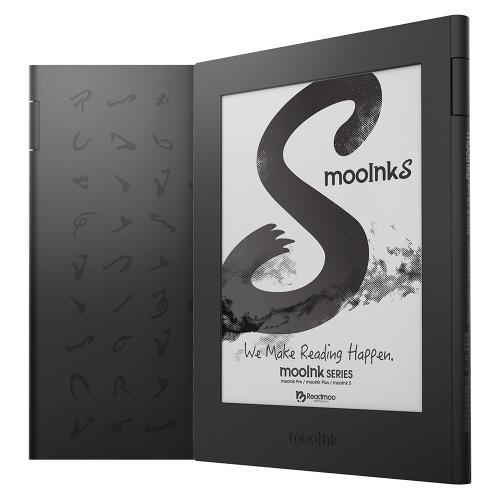 3/31-7/10新品上市活動送好禮!!!mooInkS6吋電子書閱讀器(硯墨黑)