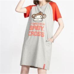 BabyCross 純棉透氣抗菌除臭連衣裙(編號:2655108)