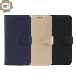 Samsung Galaxy Note20 柔軟羊紋二合一可分離式兩用皮套 細緻皮質觸感 TPU 內殼完整包覆手機殼/保護套-藍金黑