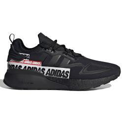 【現貨】ADIDAS ZX 2K BOOST 男鞋 慢跑 休閒 柔軟 緩衝 耐磨 避震 串標 黑【運動世界】FX7038