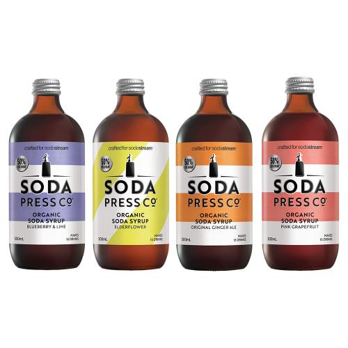 Sodastream Sodapress 有機糖漿 500ML (4款口味)