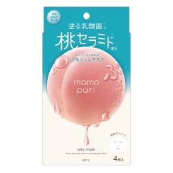 日本【BCL】彈潤蜜桃保濕面膜4枚入