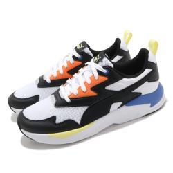 Puma 休閒鞋 X-Ray Lite 復古 男女鞋 皮革鞋面 緩震 透氣 情侶鞋 穿搭推薦 黑 白 37412211 37412211