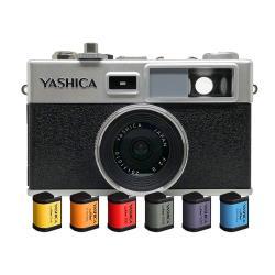 YASHICA Y35 數位底片相機 復古相機 數位色溫片六色組合
