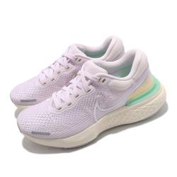 Nike 慢跑鞋 Invincible Run 運動 女鞋 ZoomX 氣墊 舒適 避震 路跑 健身 紫 白 CT2229500 [ACS 跨運動]