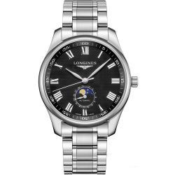 LONGINES 浪琴 Master 巨擘系列羅馬月相機械錶-42mm L29194516