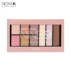 美國NICKA K 絕美9色眼影盤