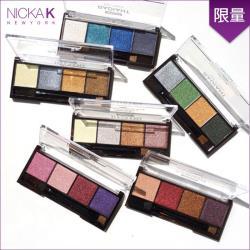 美國NICKA K 時尚經典4色眼影盤
