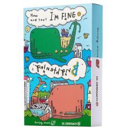 【Dr.DERMACH】Im fine亮白小鯨魚面膜x1盒(10片/盒)