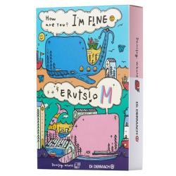 【Dr.DERMACH】Im fine保濕補水小鯨魚面膜x1盒(10片/盒)