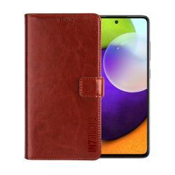 IN7 瘋馬紋 Samsung A52 5G (6.5吋) 錢包式 磁扣側掀PU皮套 吊飾孔 手機皮套保護殼