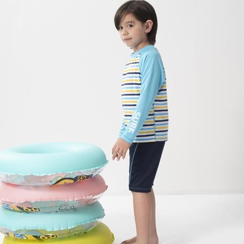 SARBIS兒童兩截式長袖防曬泳裝