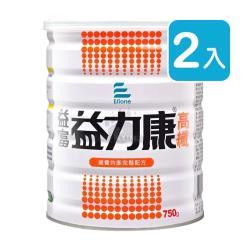 益富 益力康高纖Plus 均衡營養配方 750g (2入)