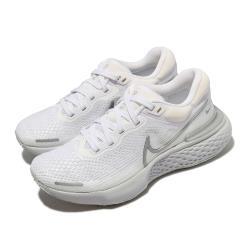 Nike 慢跑鞋 Invincible Run FK 女鞋 ZoomX 氣墊 舒適 避震 路跑 運動 白 銀 CT2229101 [ACS 跨運動]