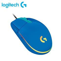 【Logitech 羅技】G102 第二代 RGB 炫彩遊戲滑鼠 - 炫光藍 【贈可愛防蚊夾】