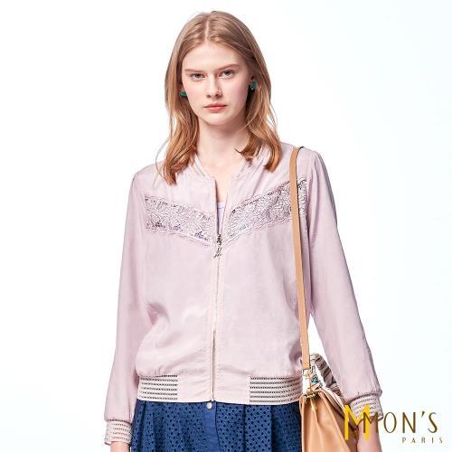 MONS法式質感蕾絲兩面穿外套/