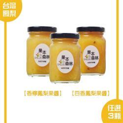 【果本森林】鳳梨系列果醬 240g/瓶 任選3瓶免運組