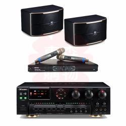 商用空間 OKAUDIO AK-7 擴大機+MIPRO MR-865PRO 麥克風+JBL Pasion 8 喇叭