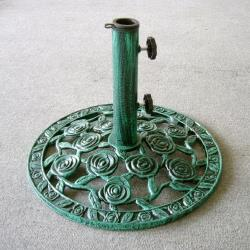 BROTHER 兄弟牌12kg玫瑰鑄鐵傘座(墨綠色)