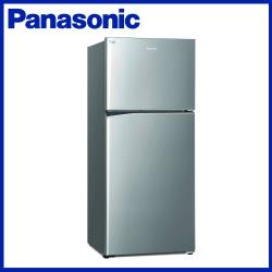 買就送韓製厚釜不沾深炒鍋★Panasonic 國際牌 422L 一級能效 雙門變頻冰箱(晶漾銀)NR-B421TV-S-庫(G)