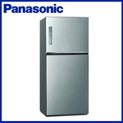 買就送韓製厚釜不沾深炒鍋★Panasonic 國際牌 650L 一級能效 雙門變頻冰箱(晶漾銀)NR-B651TV-S-庫(G)