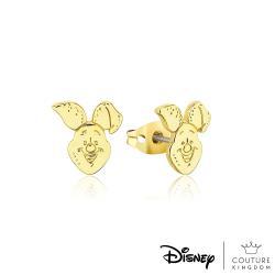 Disney Jewellery - Couture Kingdom 迪士尼 小熊維尼95週年紀念款小豬鍍14K金耳釘