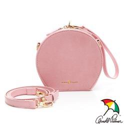 Arnold Palmer-圓形斜背包可手提 Circle系列-粉紅色