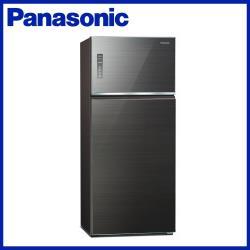 買就送韓製不沾深炒鍋+7-11商品卡1000元★Panasonic 國際牌 579L  一級能效 雙門變頻冰箱(曜石棕)NR-B581TG-T-庫(Y)
