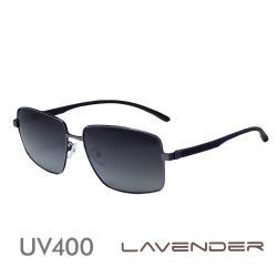 Lavender 偏光片太陽眼鏡 英倫時尚款-紳士槍-J3145 C4