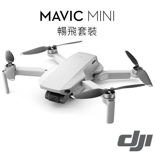 【限時搶購】DJI Mavic Mini空拍機 暢飛套裝-公司貨