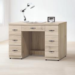 Boden-尼克4尺七抽書桌/工作桌