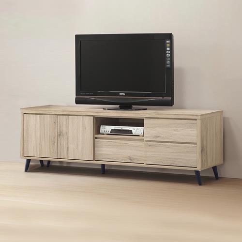Boden-尼克6尺電視櫃/長櫃/視聽櫃
