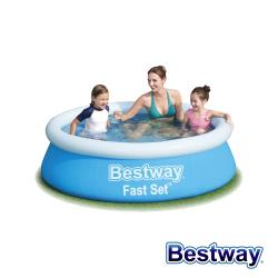Bestway。快速充氣環泳池 57392