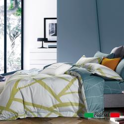 Raphael 拉斐爾 安卡洛 純棉加大四件式床包兩用被套組