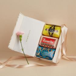 CLAUS PORTO 母親節限定 皇家香氛皂禮盒 零陵香 + 萊姆羅勒 + 嬰栗花