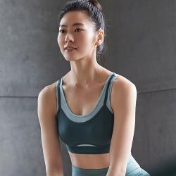 【Ladies 蕾黛絲】LadieSport好動 Level 2 舒活背心 M-EEL 運動內衣 個性綠