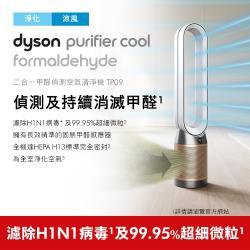 滿額送手持蒸汽掛燙機↘Dyson戴森PurifierCoolFormaldehyde二合一甲醛偵測空氣清淨機TP09(白金)