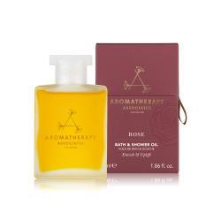 AA 英國皇家芳療 歡沁玫瑰沐浴油 55mL(Aromatherapy Associates)