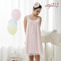 【MFN 蜜芬儂】圓舞曲浪漫居家無袖睡衣洋裝(兩色)