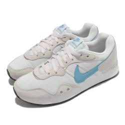 Nike 休閒鞋 Venture Runner 寬楦 男女鞋 基本款 復古鞋型 情侶穿搭 麂皮 簡約 米白 藍 DM8453001 [ACS 跨運動]