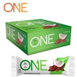 【美國 ONE Brands】ONE Bar 牛奶乳清蛋白棒 Almond Bliss(杏仁椰子/12x60g/盒)