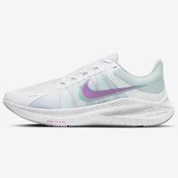 NIKE Zoom Winflo 8 女鞋 慢跑 氣墊 輕量 緩震 靈敏 白紫【運動世界】CW3421-102