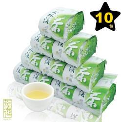 【茶曉得】杉林溪國際禮品手採金萱茶10件組(2.5斤)