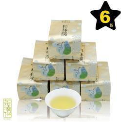 【茶曉得】杉林溪三層坪手摘黃金烏龍茶6件組(1.5斤)
