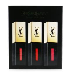 YSL聖羅蘭 Rouge Pur Couture Vernis à Lèvres唇釉3支裝 (#7, #9 , #12) 3x6ml/0.2oz