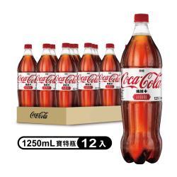 可口可樂 纖維+  寶特瓶1250ml (12入)