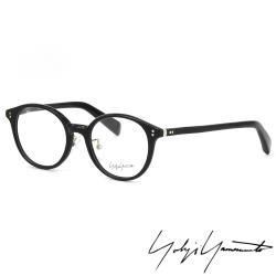 【Y-3 山本耀司】Yohji Yamamoto復古圓形框面光學眼鏡(黑-YY1020-019)