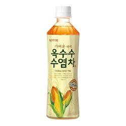 【Lotte】 樂天玉米鬚茶/牛蒡茶500ml (20入/組)
