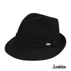 【MIT台灣製造】JUNIPER 羊毛混紡經典紳士定型帽 TJW1003