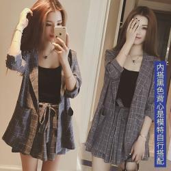【韓國K.W.】(預購)輕美學OL風格文套裝褲